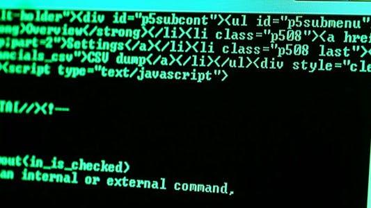 Thumbnail for Computer Screen HTML Code 6