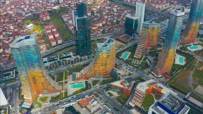 Istanbul Skyscrapers in Turkey