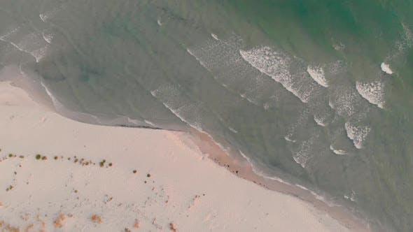 Seashore, Aerial Landscape.