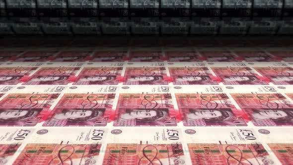 Money Print Sterlings