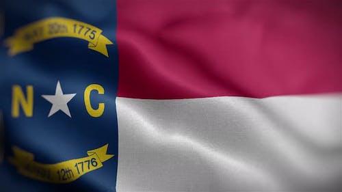 North Carolina State Flag Front