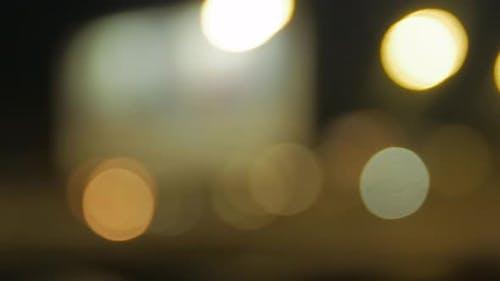 Lights Blurred Circles Motion