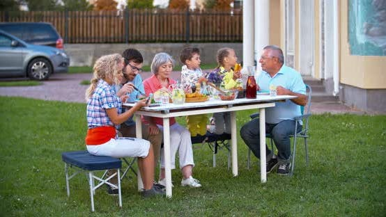 Thumbnail for Family Dining Outdoor