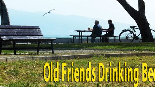 Thumbnail for Old Friends Drinking Beer