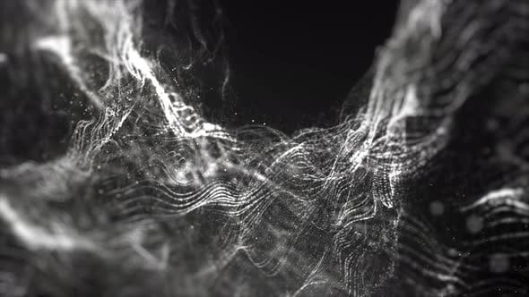 Thumbnail for Futuristic Digital Abstract Dark Particles