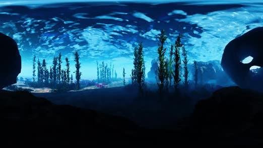 VR360 Grund des Ozeans
