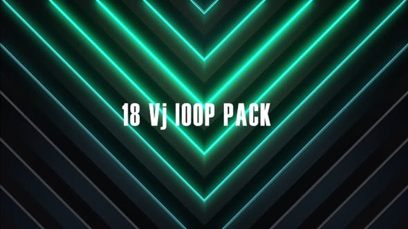 Cover Image for 18 Vj Loop Pack