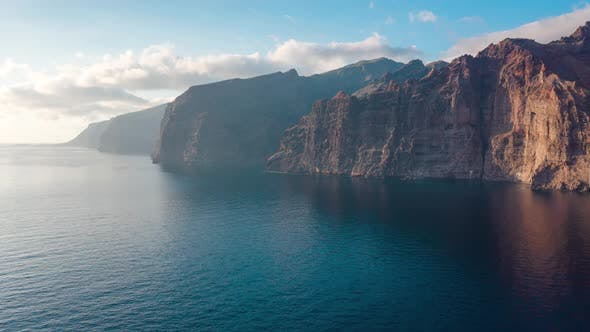 Thumbnail for Aerial Hyperlapse of Los Gigantes Cliffs on Tenerife, Canary Islands, Spain