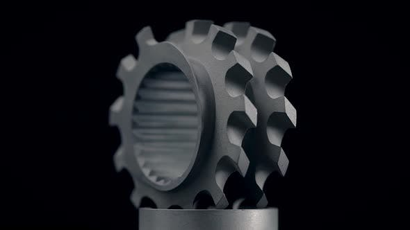 Thumbnail for Closeup Footage of Metal Parts