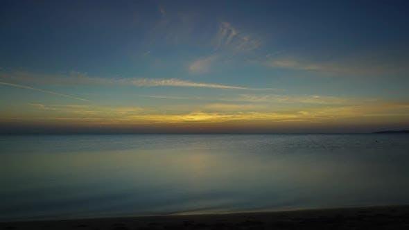 Sunrise Over Sea, Timelapse