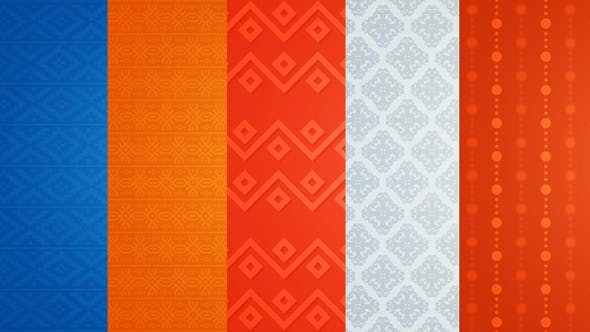 Ethnic Ornament Background