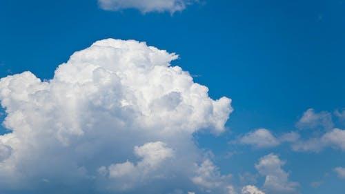 Puffy Cumulus Clouds Timelapse