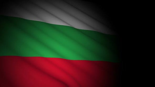 Thumbnail for Bulgaria Flag Blowing in Wind