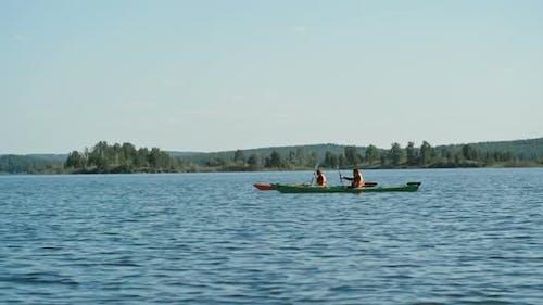 Romantic Kayaking Retreat