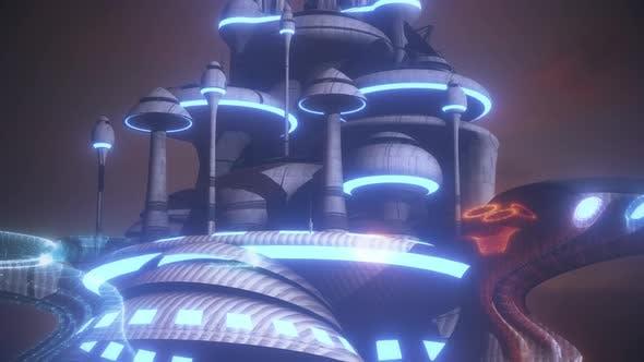 Thumbnail for Futuristic City 4k
