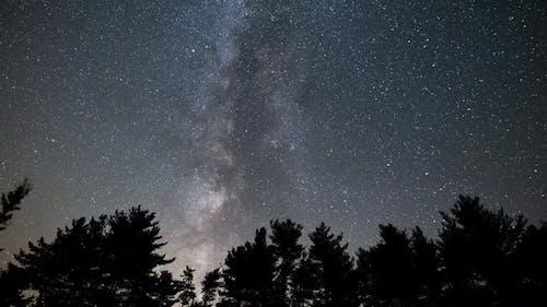 Milky Way Galaxy Video Footage
