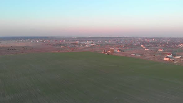 Zone Agricole Vue Drone