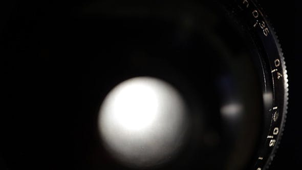 Thumbnail for Vintage Film Lens Shot From Back