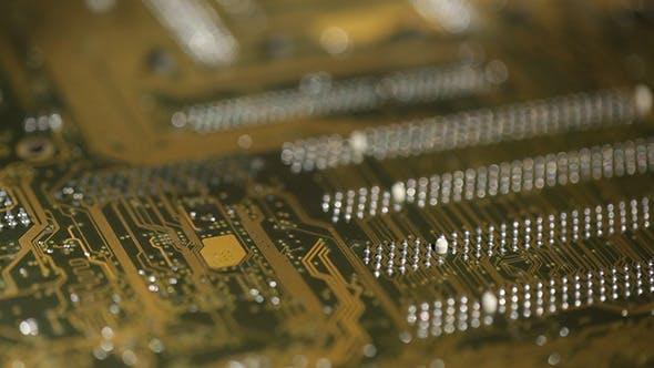 High Technology Computer Circuit Board