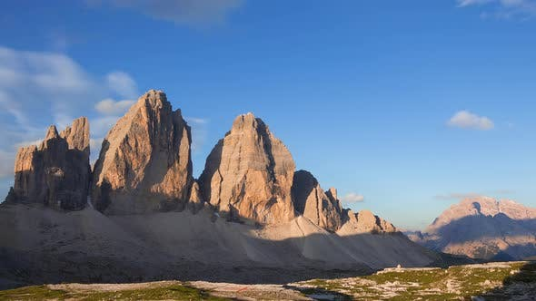 Thumbnail for Sunrise over the Mountains Tre Cime di Lavaredo