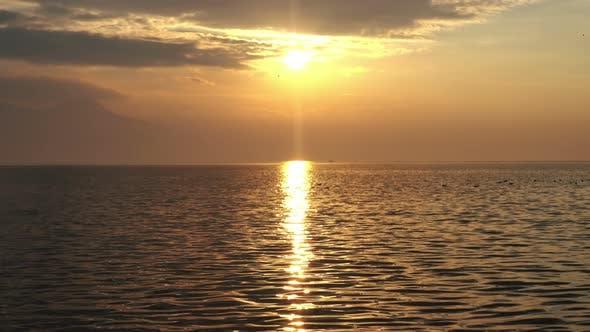 Thumbnail for Yellow Sunset On Ocean