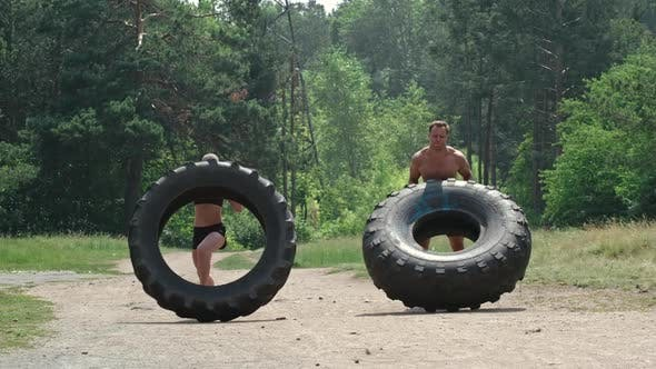 Tractor Tire Workout