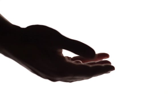 Thumbnail for Silhouettes Of Man And Woman Hands