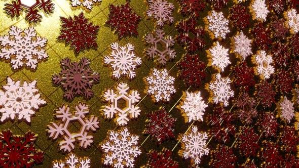 Thumbnail for Golden Snowflakes Flicker 15