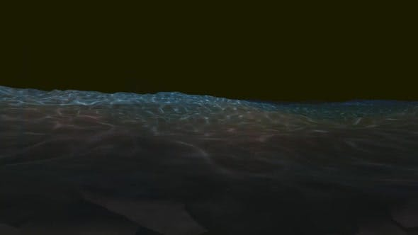 Thumbnail for The oil ship is sailing at night
