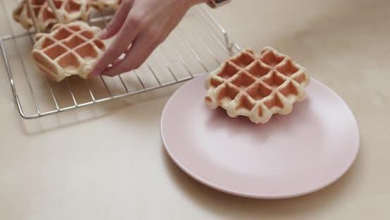 Thumbnail for Homemade Belgian Waffle