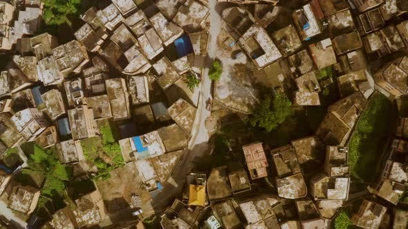 Thumbnail for Aerial of the rice fields and villages of Yuanyang County China