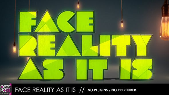 Thumbnail for Face Reality As It Is