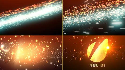 Thumbnail for Cinematic Light Streaks Logo