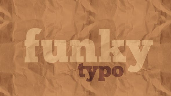 Thumbnail for Funky Typo
