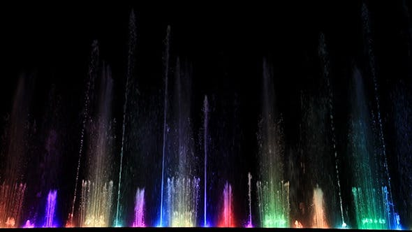 Thumbnail for Dancing Beautiful Colorful Fountain