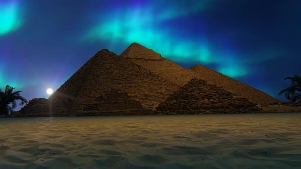 Thumbnail for Pyramids At Night