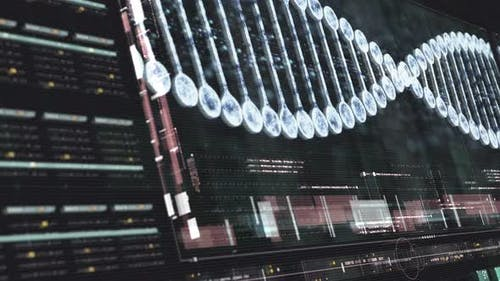 Holographic Display of Advance DNA Sequence Analysis 02