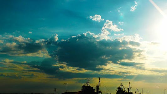 Thumbnail for Dock and the Clouds Time Lapse