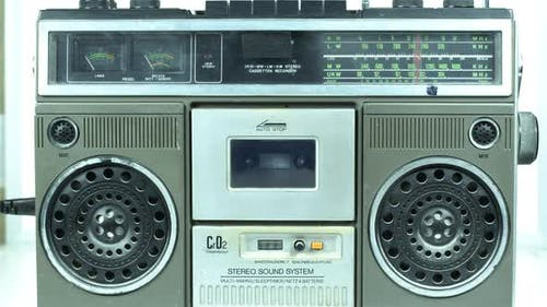 Old Cassette Tape Channel Tuning