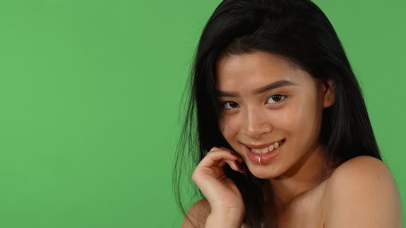Thumbnail for Stunning Asian Woman Smiling To the Camera