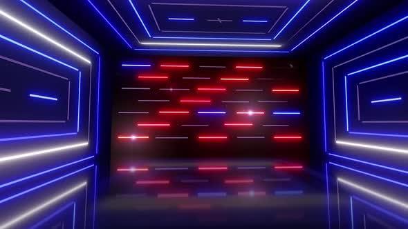 Thumbnail for Disco Light Room