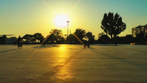 Skateboard-Bereich