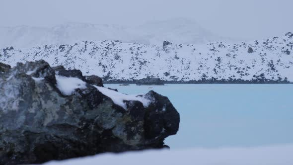 Thumbnail for Iceland Geothermal Sulfur Pool In Winter