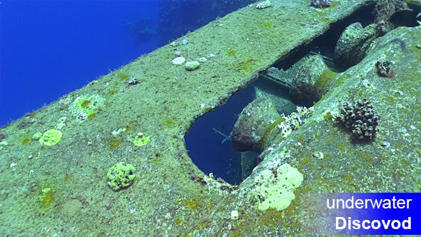 Cover Image for Shipwreck Salem Express in Red Sea 2