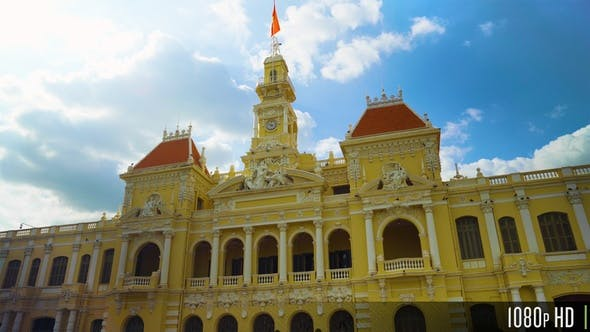Thumbnail for People's Committee Building of Ho Chi Minh City Vietnam