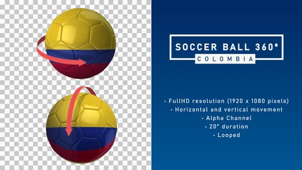 Soccer Ball 360º - Colombia