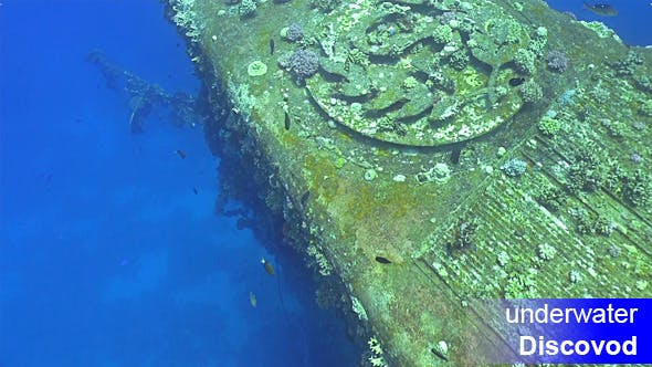 Thumbnail for Shipwreck Salem Express in Red Sea 6