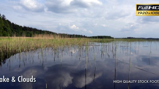 Thumbnail for Lake, Clouds & Reflection