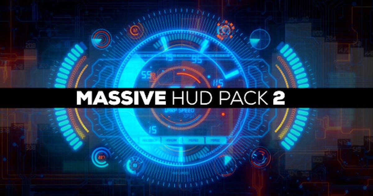 Download Massive HUD Pack 2 by EFEKT_Studio