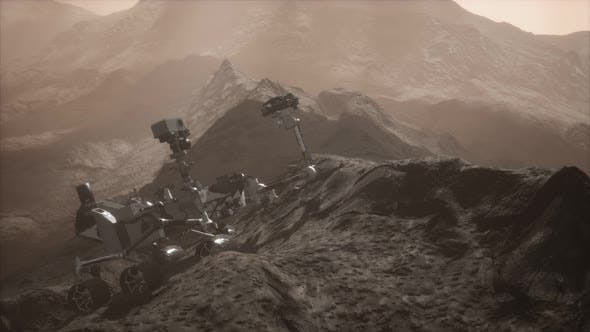 Thumbnail for Curiosity Mars Rover Exploring the Surface of Red Planet